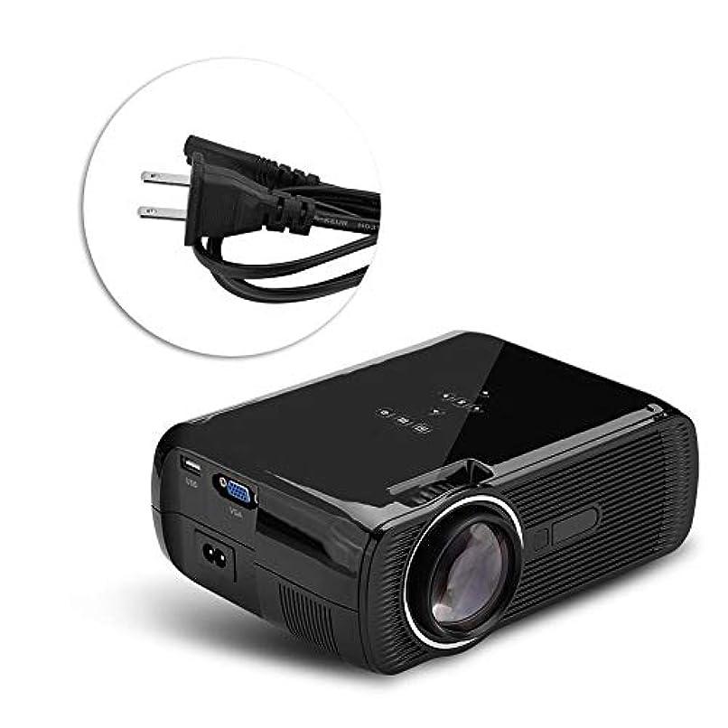傑作復活ラッチBrocan ミニホームシアター1080PフルHD HDMIのBluetooth WIFI LEDプロジェクタービデオメディアプレーヤーブラック米国