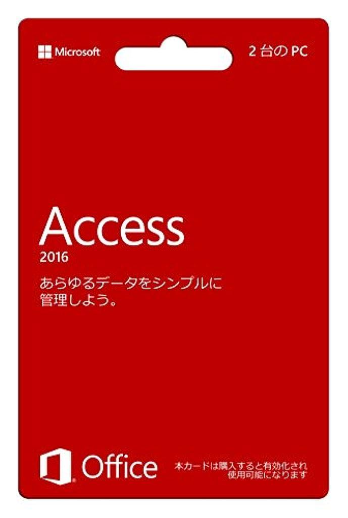 怪物ブリーフケースエクスタシー【旧商品/販売終了】Microsoft Access 2016 (永続版)|カード版|Windows|PC2台