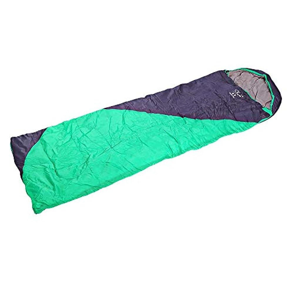 カフェテリアうれしい文明Shengyuan屋外大人の折り畳み式のスプライシング防水太いエンベロープ寝袋