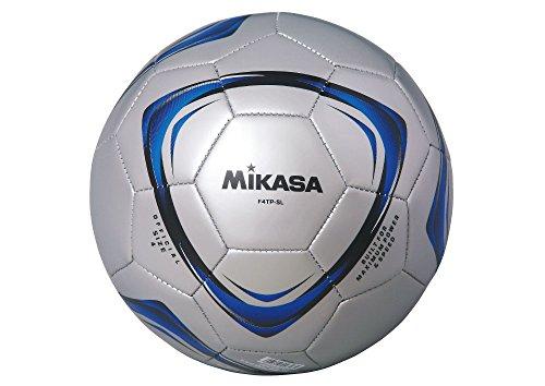 サッカーボール 4号 シルバー 1球