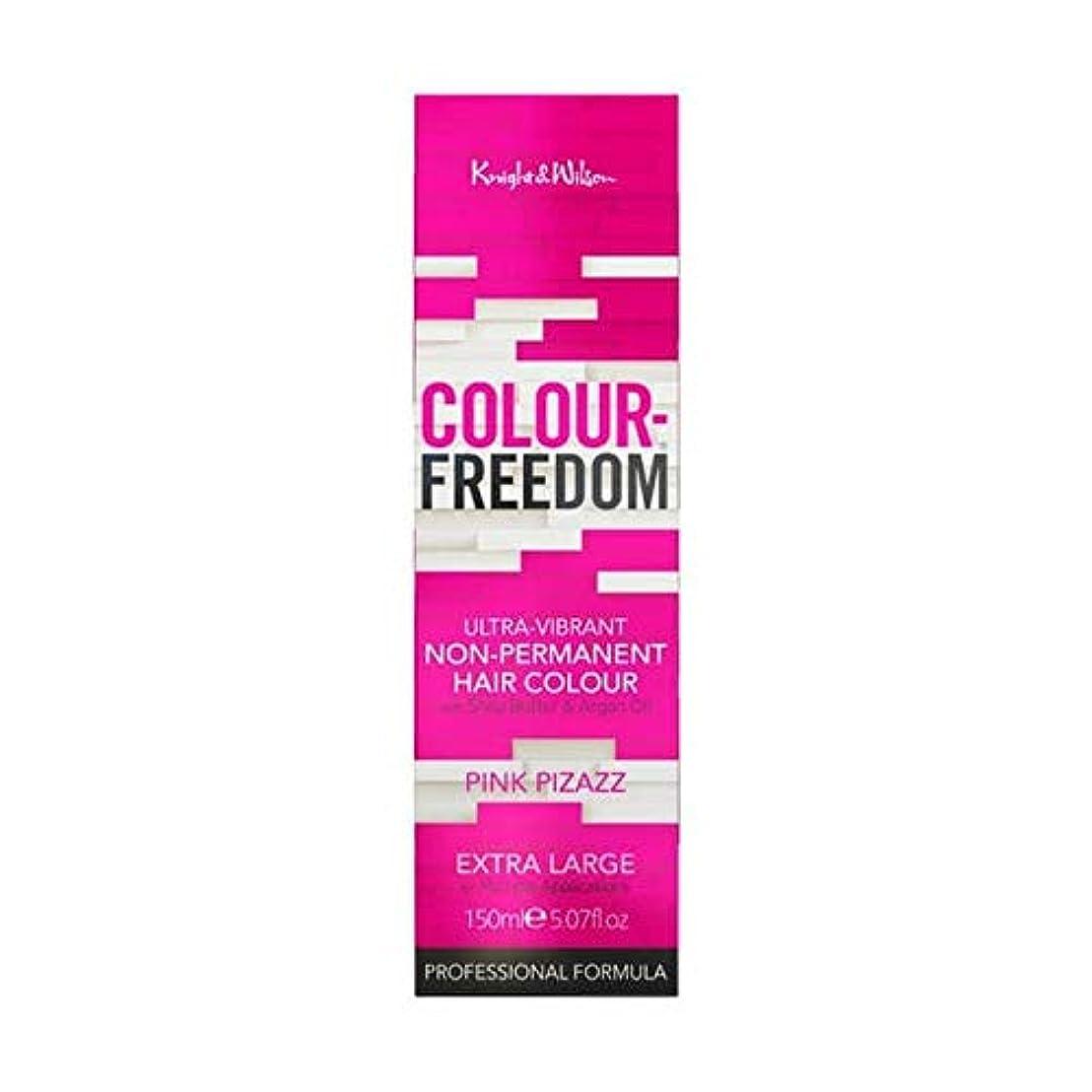 事実勉強する送る[Colour Freedom ] 色自由ピンクあか抜け006 - Colour Freedom Pink Pizazz 006 [並行輸入品]