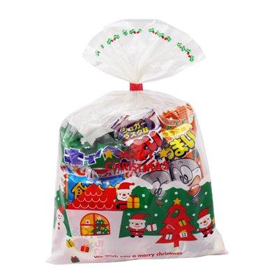 クリスマス袋 200円 お菓子 詰め合わせ (Aセット) 駄菓子 袋詰め おかしのマーチ