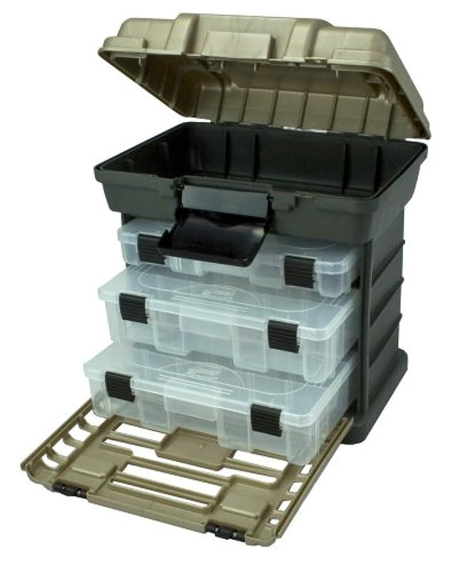 ステップ定数バックアップPlano 136330 3段トレー付工具箱 グレー 深