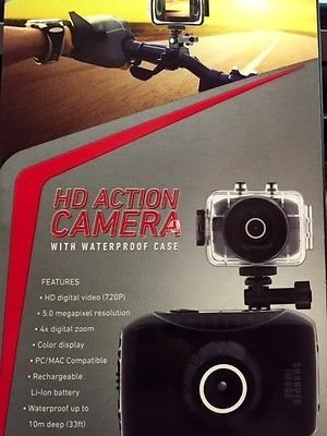 New Sharper Image Hd Action Camera