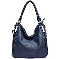 Women Handbags Hobo Shoulder Bags - AB Earth Large Designer Ladies PU Leather Purse and Bag,H004