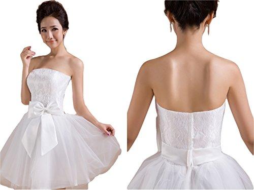 パーティー 結婚式 ドレス ( 純白 フリーサイズ )( パ...
