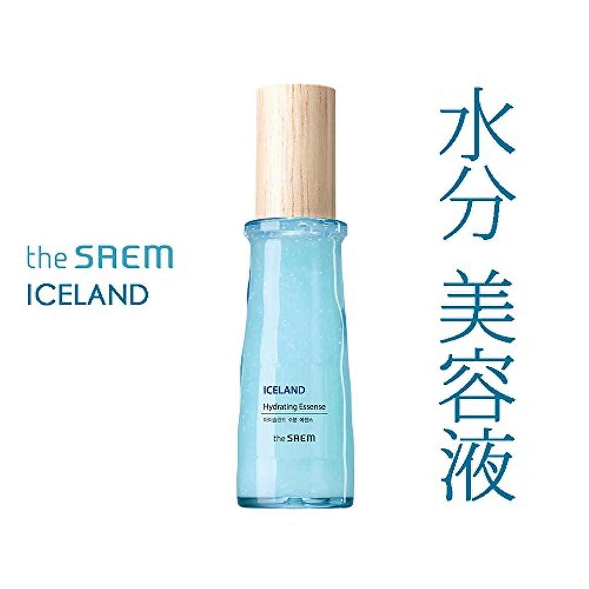 戦争カートン溶けたザ セム The saem アイスランド 水分 美容液 エッセンス The Saem Iceland Hydrating Essence 60ml