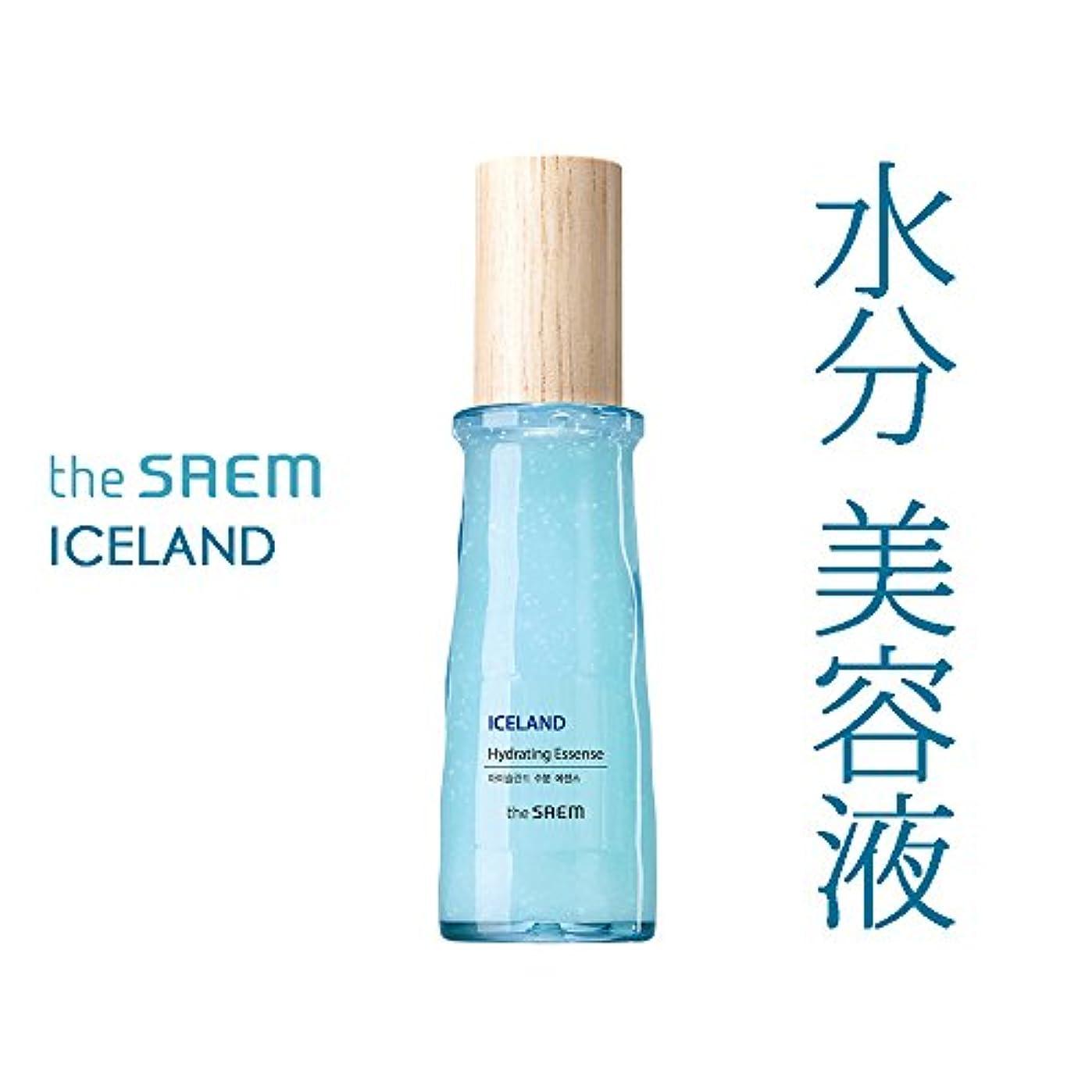 オーケストラ伝記実際のザ セム The saem アイスランド 水分 美容液 エッセンス The Saem Iceland Hydrating Essence 60ml