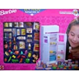 Barbie(バービー) - Fun Fixin' Refrigerator Set - Deluxe Appliance Playset w Brand Name Foods - 1997 Arcotoys Mattel ドール 人形 フィギュア(並行輸入)