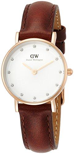 [ダニエル・ウェリントン]DanielWellington 腕時計 Classy St Mawes ホワイト文字盤 スワロフスキー DW00100059 レディース 【並行輸入品】