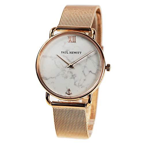 [ポールヒューイット]Paul Hewitt 腕時計 ウォッチ ローズゴールド 32mm レディース [並行輸入品]