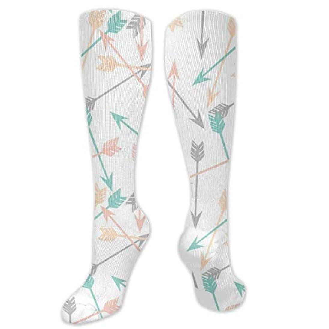 真似るオーロックマルクス主義靴下,ストッキング,野生のジョーカー,実際,秋の本質,冬必須,サマーウェア&RBXAA Arrows Watercolor Socks Women's Winter Cotton Long Tube Socks Cotton...