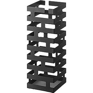 山崎実業 傘立て ブリック ブラック 2363