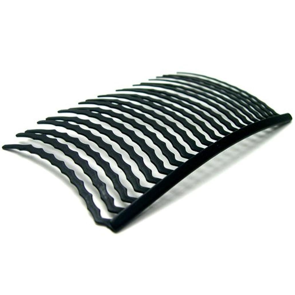 九時四十五分平凡ステレオタイプリトルムーン インナーヘアアクセ コーム20本櫛(スーパーマット) ブラック