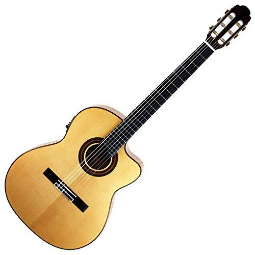 ARIA アリア フラメンコギター A-58CWE/M エレクトリックモデル ソフトケース付