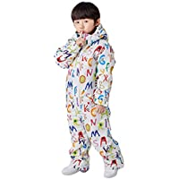 Kids Snow Suit, New One Piece Boys and Girls Winter Jumpsuit Outdoor Warm for Snow Sports