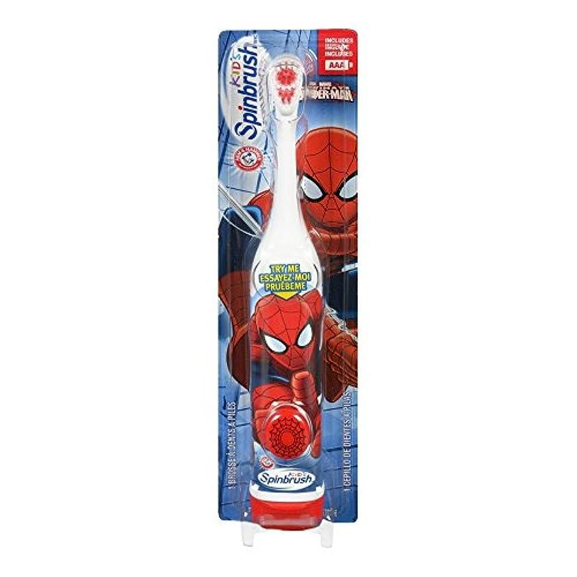 端嫌い品揃えARM & HAMMER Kid's Spinbrush Spiderman 1 Each (Pack of 6) Designs May Vary 141[並行輸入]