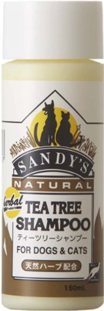 南タンパク質分SANDY'Sティーツリーシャンプー 150ml