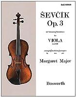 Sevcik Op. 3: 40 Variations / Variationen for Viola (Alto)