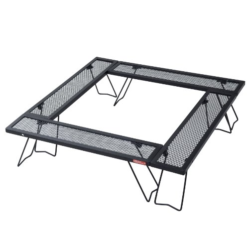テントファクトリー ウッドライン スチールワーク コネクションテーブル 4台セット