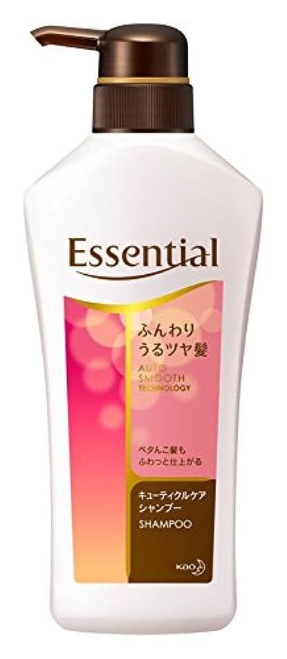 疾患襟命題エッセンシャル シャンプー ふんわりうるツヤ髪 ポンプ 480ml