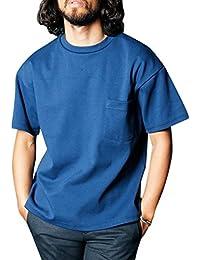 マージン 1612-71 DELAVE CTN BIG SILHOUETTE PKT Tシャツ