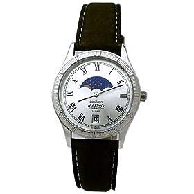 MARINO capitano (マリノキャピターノ) 腕時計 ムーンフェイズ MC 281M-2 メンズ
