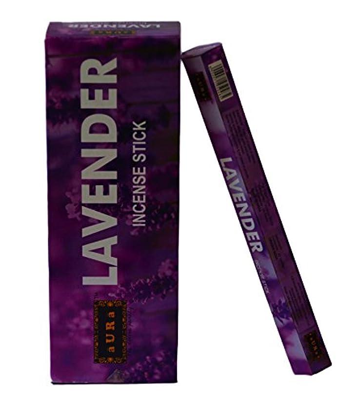 の慈悲でルアーサリーオーララベンダー香りつきIncense Sticks、プレミアム天然Incense Sticks、六角Packing -120 Sticks