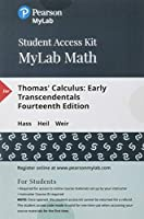 MyLab Math plus Pearson eText - Standalone Access Card - for Thomas' Calculus: Early Transcendentals (14th Edition)【洋書】 [並行輸入品]