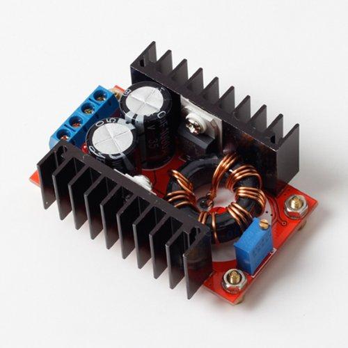 DC-DC ブースト コンバータ 10-32V 12-35V ステップアップ 調整可能な 電源 150W
