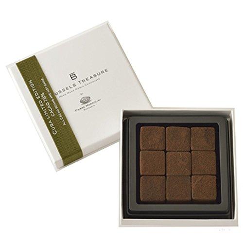 ピエールマルコリーニ 生チョコレート キューバ リミテッドエディション9個(ギフト梱包・ギフト袋・メッセージカードつき)