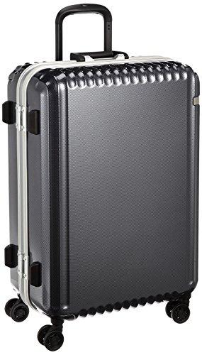 [エース] ace. スーツケース パリセイドF 60cm 61L 4.5kg 05572 02 (ブラックカーボン)