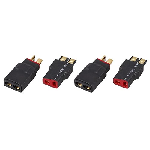 [해외]Dovewill 4 개 플라스틱 무선 Traxxas FM-T 플러그 M Traxxas M-T 딘스 커넥터 어댑터/Dovewill 4 pieces Plastic Wireless Traxxas FM - T Plug M Traxxas M - T Deans Connector Adapter