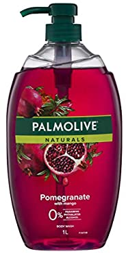 Palmolive Naturals Pomegranate with Mango Body Wash 0 percentage Parabens Dermatologically Tested pH Balanced
