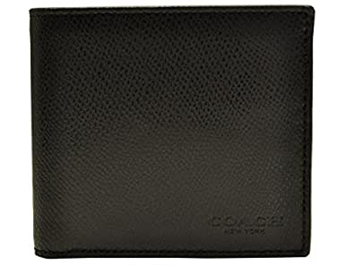 (コーチ) COACH 財布 二つ折り コイン ウォレット クロスグレイン レザー F74981 メンズ アウトレット ブランド [並行輸入品]