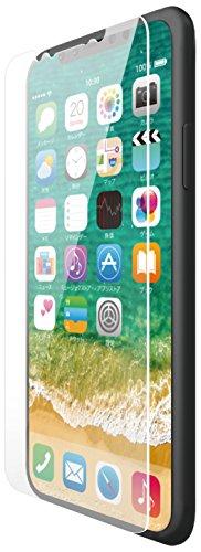 iPhone X用フィルム/防指紋/反射防止 PM-A17XFLFT