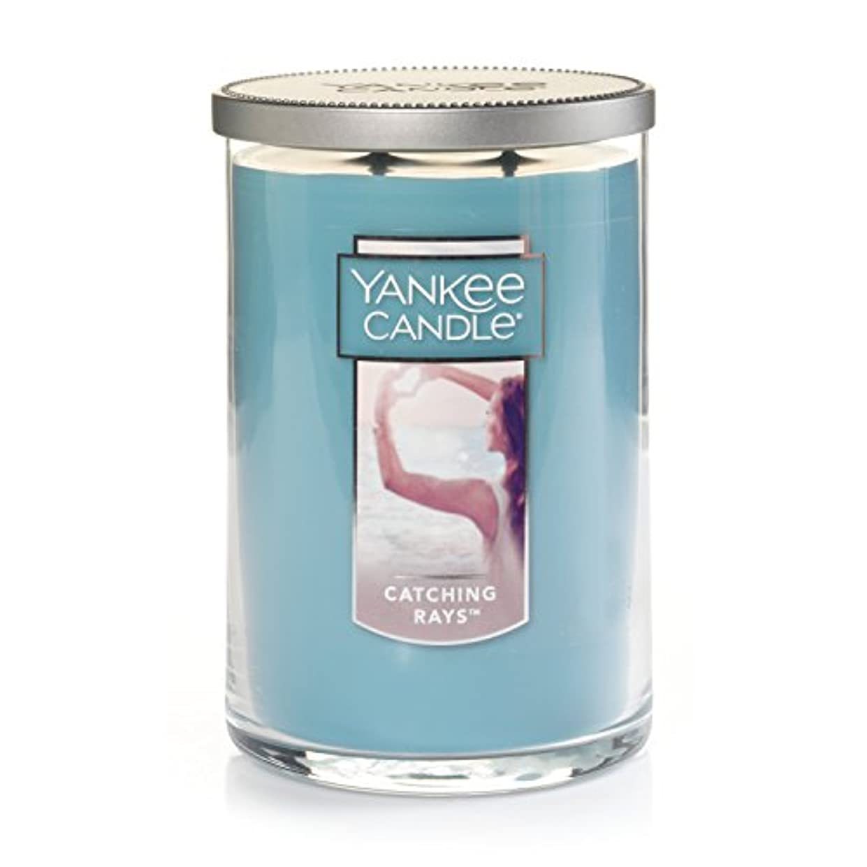 キャプテン空中石(ヤンキーキャンドル) Yankee Candle Lサイズ ジャーキャンドル Large 2-Wick Tumbler Candle ブルー 1351630Z