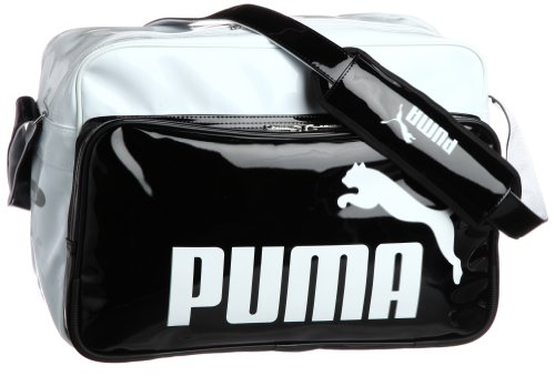 PUMA(プーマ) Ts Shiny Type B Shoulder L 071473 02 (ホワイト/ブラック)