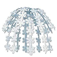 Snowflake Cascade Party Accessory (1 count) (1/Pkg) [並行輸入品]