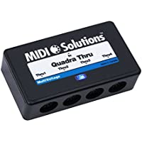 MIDI Solutions ソリューション Quadra 4-Output MIDI Thru Box【並行輸入品】