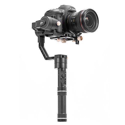 ZHIYUN Crane Plus カメラ スタビライザー ジンバル 3軸 電動 手ブレ ミニ三脚 1/4ネジ穴付き ブラック
