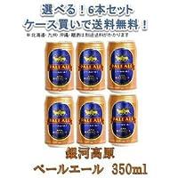 銀河高原ビール ペールエール 350ml 6缶