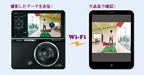 CASIO デジタルカメラ EXILIM 石川遼プロのスイングムービー内蔵 ゴルファー向けハイスピードカメラ EX-FC500SBK カシオ
