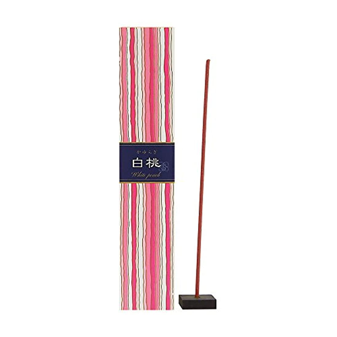 貨物捨てる矛盾するNippon Kodo – Kayuragi – ホワイトピーチ40 Sticks