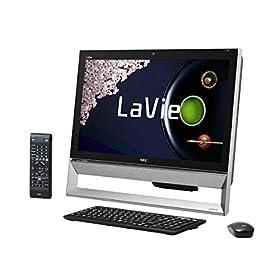 日本電気 LaVie Desk All-in-one - DA570/AAB ファインブラック PC-DA570AAB