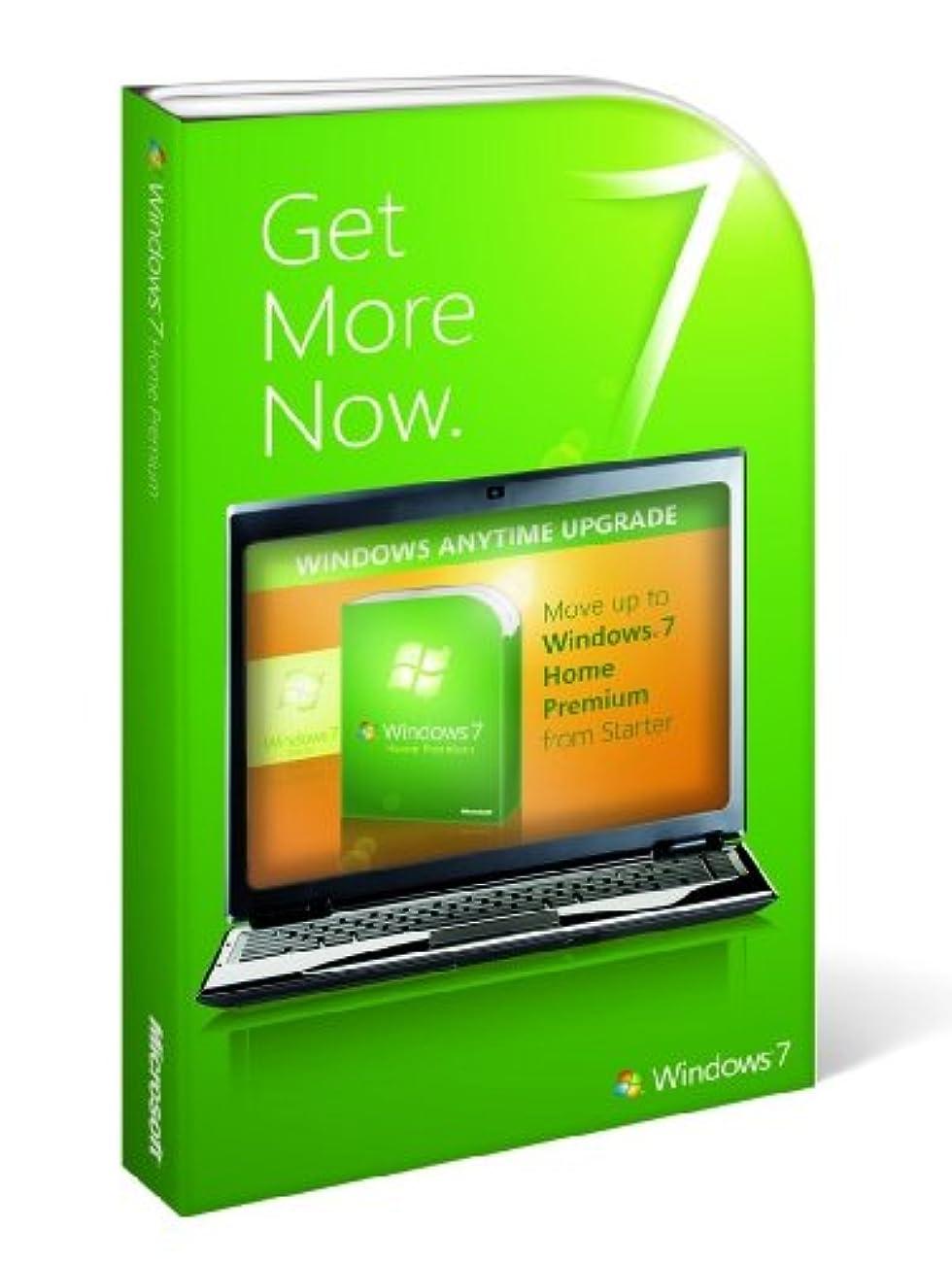 Windows 7 StepUpgrade Starter to Home Premium 英語版 アップグレード 【プロダクトキー】