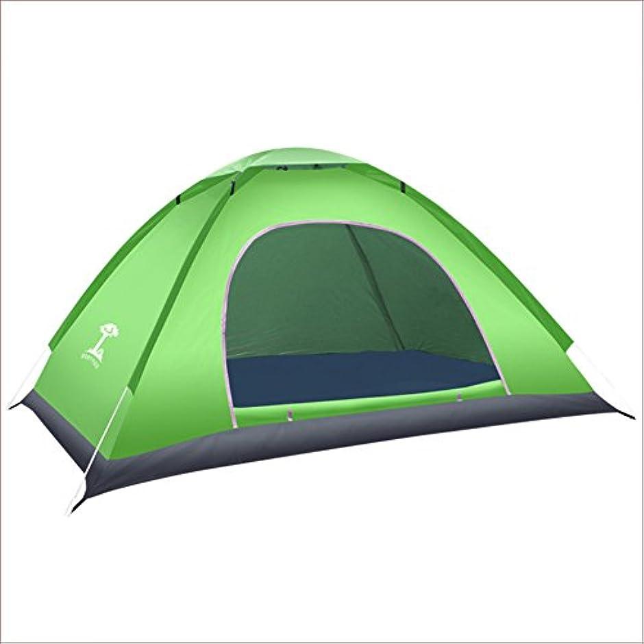 貨物愛情深い終了しましたTY&WJ ドームテント,屋外 バーベキュー とグリル 全自動 キャンプテント 設定 屋外 旅行 テント ポータブル折りたたみ 24、仮設テント 2 人
