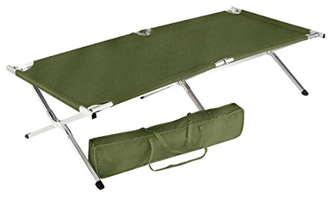 ヤギ徹底的に研究Rothco GiスタイルオーバーサイズAluminum Camp Cot , Olive Drab