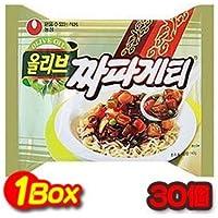 韓国食品 オリーブ ジャパゲッティー 1箱(140gx40個) 韓国風のジャージャーソースが香ばしい 農心
