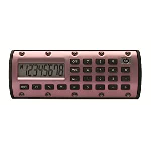 日本ヒューレット・パッカード hp 電卓 QuickCalc パールピンク 日マニュアル付